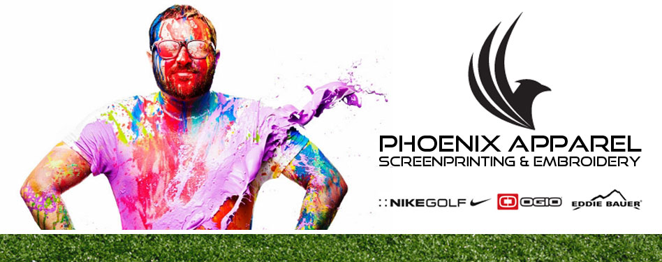 Phoenix Apparel Buffalo's source for: custom screen printing, embroidery, design and tackle twill